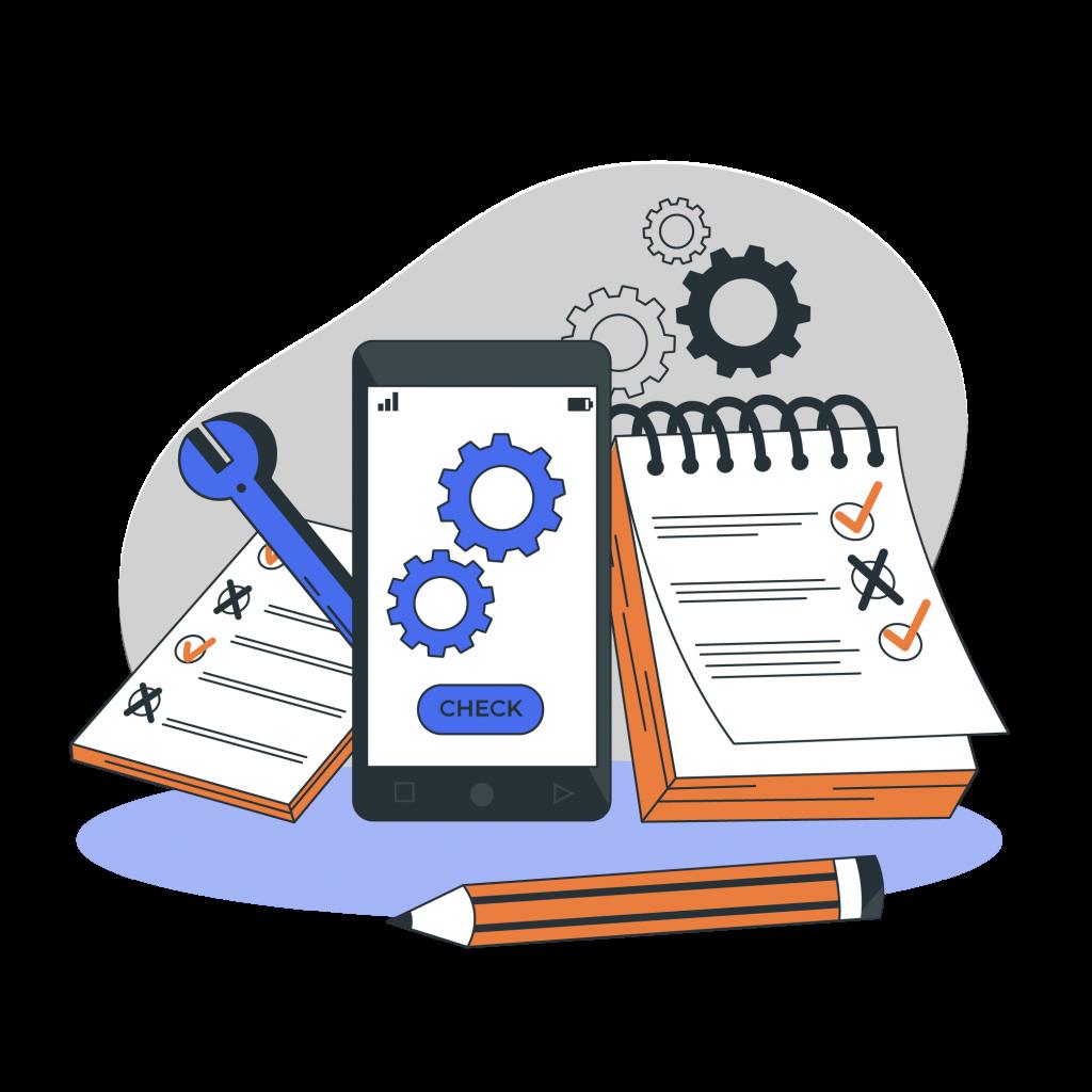 Illustration d'outil pour un lancement de projets